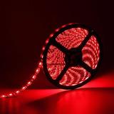 Tira Cinta Led Para Interior 3528 Rojo 5 Metros