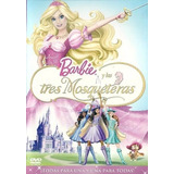Barbie Y Las Tres Mosqueteras - Dvd - Original!!!