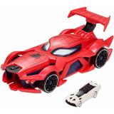 Spiderman Hot Wheels Lanzador Marvel Web Car Original