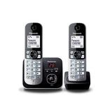 Teléfono Inalámbrico Original Doble Panasonic Kxtg6822lab