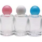 50 Mini Frasco De Perfume Com Tampa 10ml (lembrancinhas)
