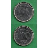Grr-moneda De Brasil 100 Cruzeiros Reais 1993 - Lobo Guará