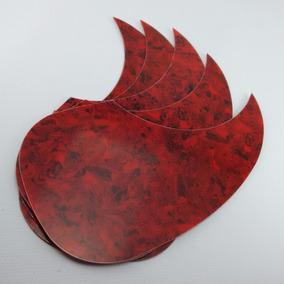 Escudo Gota Red Tortoise Para Violão (folk) - Lote 5 Und.