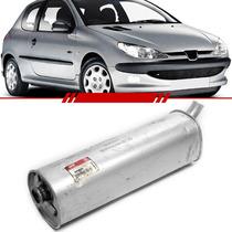 Conjunto Traseiro Peugeot 206 De 2005 2004 2003 2002 A 2000