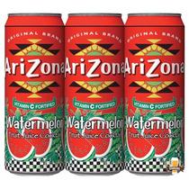 Arizona Watermelon - Suco De Melancia - Kit 3 Unidades 340ml