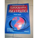 Geografia Elementos Fisica Y Politica Trillas 1er Grado
