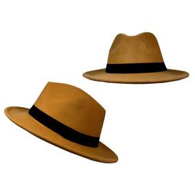 Chapéu Estilo Indiana Jones Cury Marrom Claro
