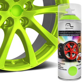 Spray Envelopamento Multiuso Rodas Carro Moto E Bicicletas