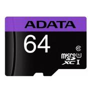 Cartão De Memória Adata 64gb Class 10- Ausdx64guicl10-rat