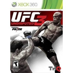 Jogo Ufc 3 Xbox 360 Ntsc Midia Fisica Original