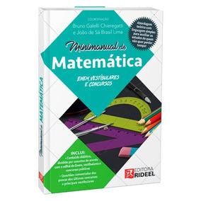 Minimanual De Matemática - Enem, Vestibulares E Concursos