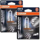 Lampara H11 Osram Night Breaker