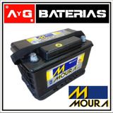 Bateria Moura M24kd 12x75 Astra Vectra Berlingo Kuga Passat