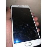 Celular Samsung S6 Flat Lógica 32gb Liberado Sensores Ok