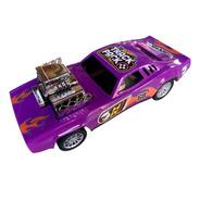 Auto Carrera Purple Hot Wheels A Friccion 22cm  F96700
