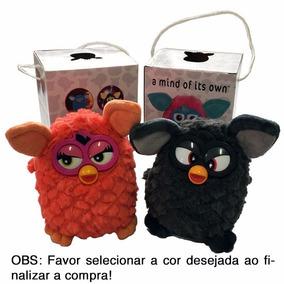 Brinquedo Interativo Furby Repete Dança Fala Preto Vermelho