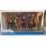 Set Pack Rebirth Dc Icons Dc Collectibles Justice League Jl