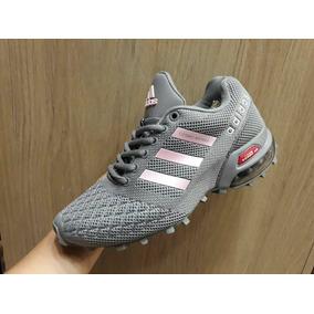 70f049466098b Zapatillas Adidas Con Camara De Aire Mujeres - Tenis Gris oscuro en ...