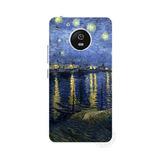 Capinha Case Motorola Moto G5 Plus Van Gogh Aquarela