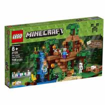 Lego 21125 Minecraft The Jungle Tree House - 706 Pç - No Br