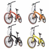 Bicicleta Dobrável E Compacta Two Dogs Pliage Freio A Disco