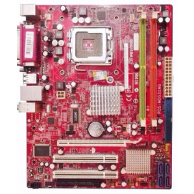 Kit Placa Mãe 775 Ddr2 + Cpu - Msi / Positivo / Pos-mig31ag