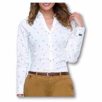 Blusa Camisera Formal Para Dama Af1506