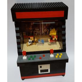 Lego Similar Arcade Fliperama Street Fighter Videogame