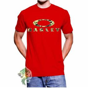 Lupas Oakley Verde Com Vermelho - Camisetas no Mercado Livre Brasil 0e18d5d18b