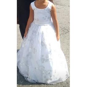 Vestido Renda Dama De Honra/ Crianças De 4 A 5 Anos