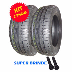 Kit 2 Pneu Remold + Brinde Aro 16 205/55 89 T Promoção