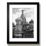 Quadro Moscou Russia Kremlin Arte Sala M41 Decoracao Moldura