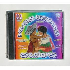 Bailables Regionales Escolares, Cd Mexicano Nuevo Y Sellado