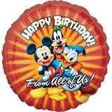 Mickey Mouse Globo Metalizado 45.7cms