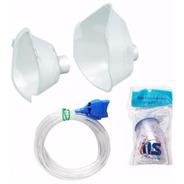 Conjunto Acessórios Respiramax Ns Máscaras Copo Tubo - Novo