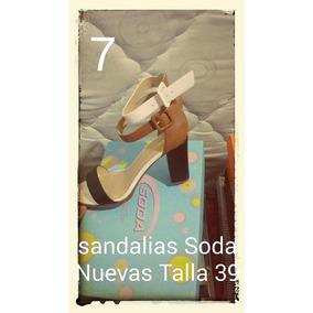 Hermosas Sandalias Marca Soda Talla 39... Fotos Reales!!