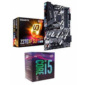 Kit Intel I5 8400 4.0ghz Max Turbo + Gigabyte Z370xp Sli 8ªg