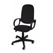 Cadeira Presidente Flex Giratória C/ Braço Orelha E Relax