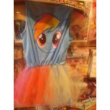 Hermoso Disfraz Pequeño Pony Rainbow Das - Mi Litlle Pony!!!