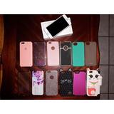Iphone 6s Color Rosa Gold Incluye Fundas Cargador Y Mas