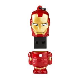 Pen Drive Marvel Homem De Ferro - 8gb - Usb 2.0 - Multilaser