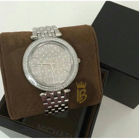 Relógio Michael Kors Mk3404 Slim Prata Com Marca D