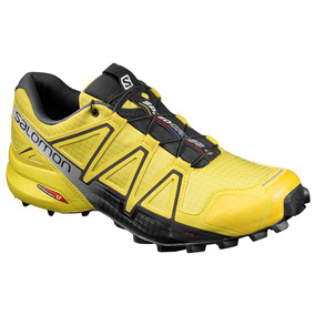 Tenis Hombre Salomon Trail Running Speedcross 4 Amarillo