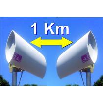 Enlace Punto A Punto De Internet 1km Combo Antena Wifi
