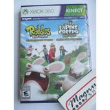 Rabbids Invasion Les Lapins Cretins Para Xbox 360 Nuevo