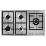 Tope Cocina 90cm Tecnolam Flat 5 Hornilla Profesional Gas Ac