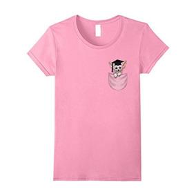 Camiseta Para Mujer, Perro Chihuahua En El Casquillo De La