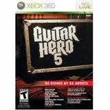 Nuevo Guitar Hero 5 Sas X360 (software De Videojuegos)