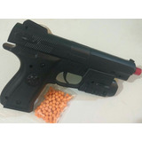 Pistola Airsoft Deserte Eagle Plastico