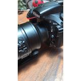 Cámara Fullframe Nikon D810